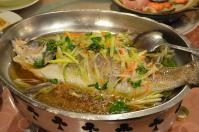 寧福樓の清蒸魚130213