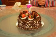 日本爺の誕生ケーキ130213