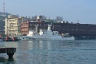 基隆港に停泊する台湾巡視船130214