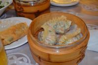 吉星飲茶の明蝦韭菜餃130215