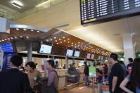 台北松山空港カウンター130217