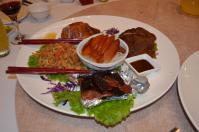 新荘翰品酒店披露宴料理の燒臘オードブル130303