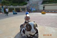 遠雄海洋公園の電動犬