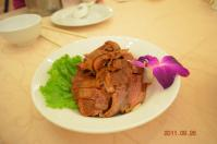 怡園渡假村2泊目夕食の鹿料理
