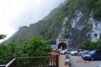 崇徳休息區からトンネル側を望む