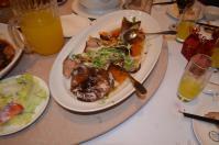 新荘翰品酒店披露宴料理の蒸し魚130303