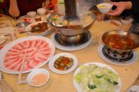 酸菜鍋と白肉(バラ肉)で酸菜白肉鍋コンプリート130421