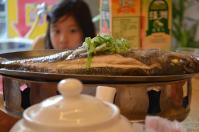 榮星川菜の清蒸魚130512