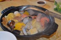 榮星川菜の什錦沙鍋(土鍋)130512