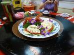 201108三重新口味の伊勢海老サラダ