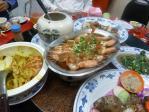 201108三重新口味の清蒸蝦子