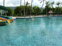 怡園渡假村3日目は朝から水遊び3