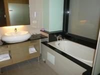 新幹線花園酒店シングルルームのバスルーム130319