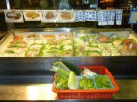 台湾の夏林海鮮店の食材130320