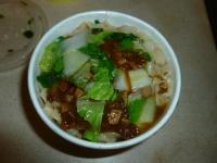 炸醤麺(ジャージャー麺)130408