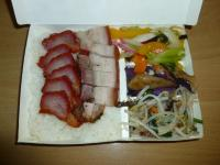 叉焼焼肉飯130409