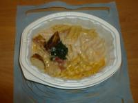 焗烤奶油培根(筆管麵)130411