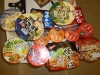 天母高島屋で買った特価日本製カップめん130427