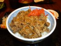台湾吉野家の牛丼130506