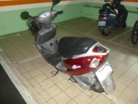 バイクで子供お迎え130508