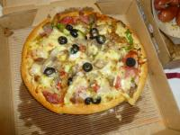 PIZZA HUTの超級總匯130607