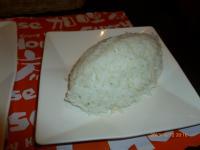咖哩家@天母高島屋のチーズハンバーグカレーの飯130612