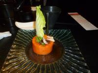 藝奇ikki 新日本料理のパパイヤサラダ130614
