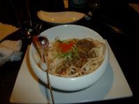 藝奇ikki 新日本料理の海鮮胡麻冷麺130614