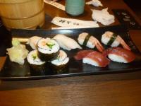 上都和食さと統一阪急店の寿司130622