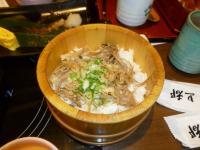上都和食さと統一阪急店のキノコ混ぜご飯130622