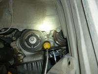 WISHの冷却水循環ポンプ水漏れ130720
