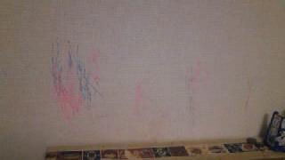 子供部屋 壁に アートその1