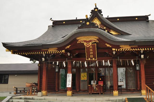 2011・8・16写真合宿2日目美瑛神社2