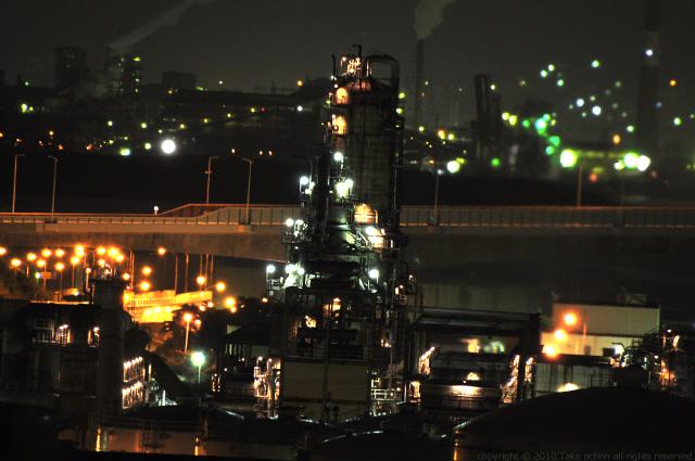 2011・9室蘭工場夜景2