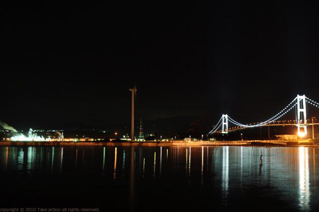 2011・9室蘭工場夜景4