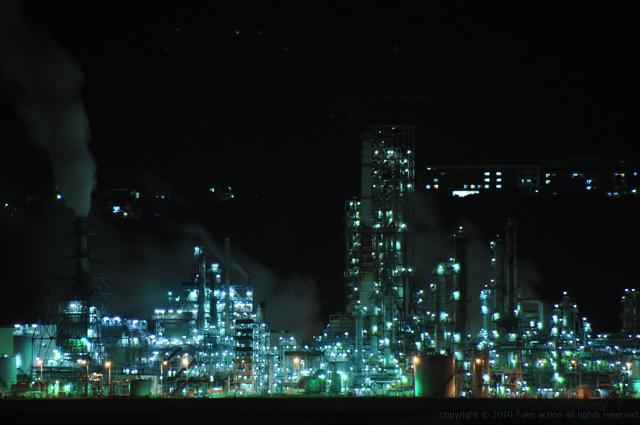2011・9室蘭工場夜景6