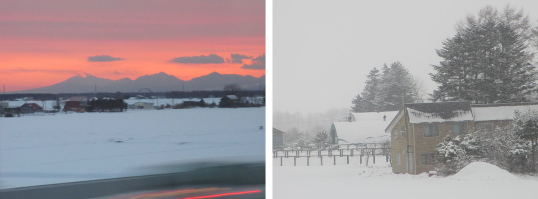 雪の北海道&紅葉の京都