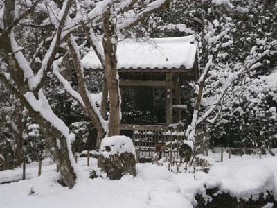 「平清盛」ゆかりの雪景色