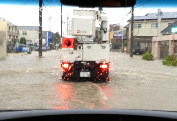 名古屋豪雨!!