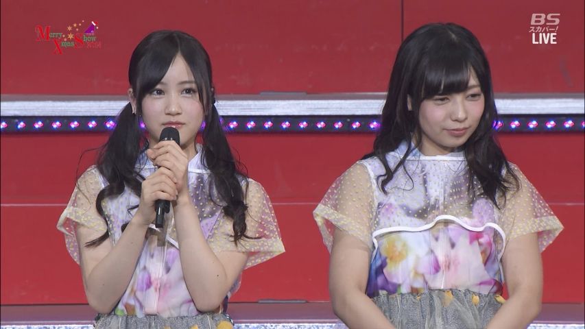 「乃木坂46 Merry X'mas Show 2014」星野みなみ