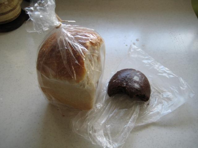 プクプクさん・食パン・オレンジピールチョコ
