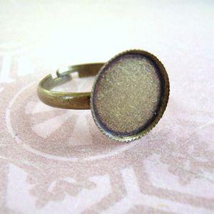 シンプル円皿付指輪_R