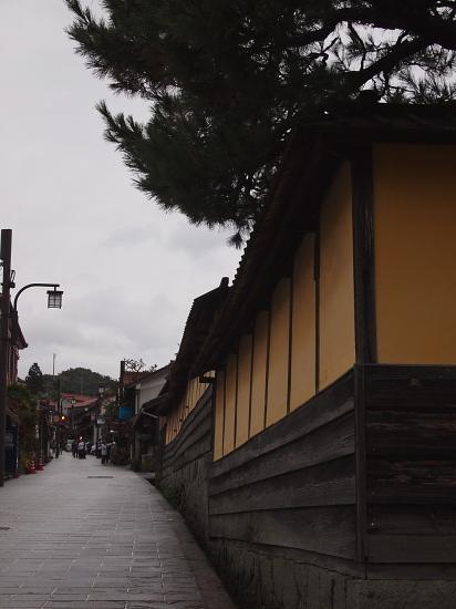 吉田村 塀と石畳
