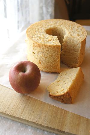 リンゴおろしシフォン