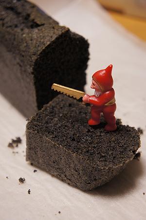 黒ゴマケーキ