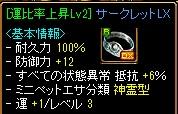 12.01.27 花乙女異次元(結果)