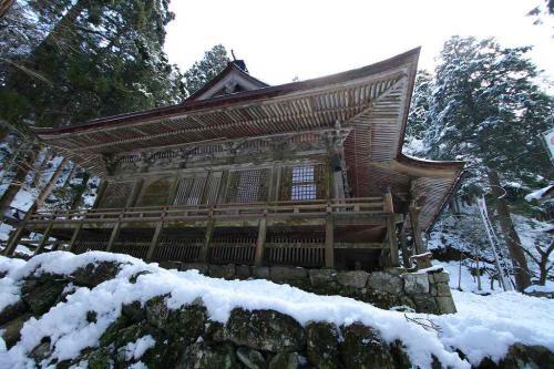 横蔵寺 本堂
