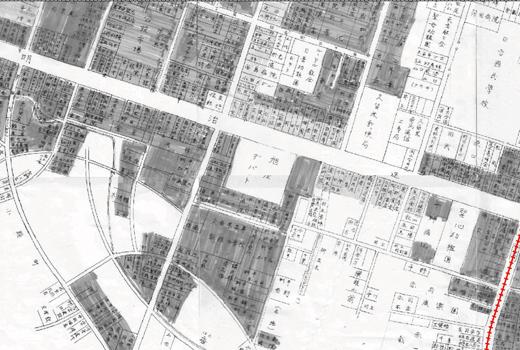 140917_12戦前の六ツ門地図