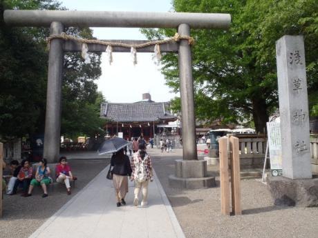 浅草神社門