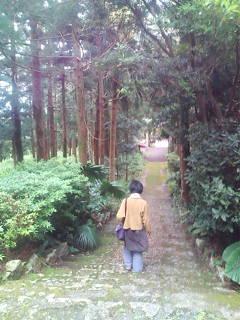 原神社階段